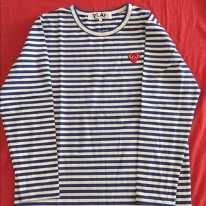 Cdg long sleeve T-shirt. Large new